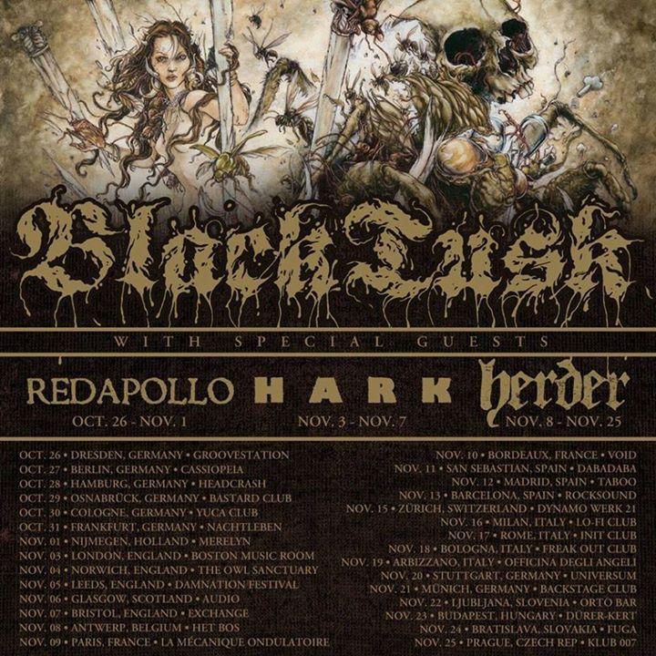 Black Tusk Tour Dates