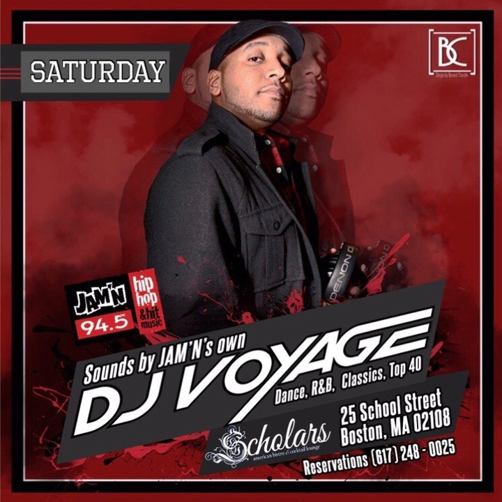 DJ Voyage @ Scholars - Boston, MA
