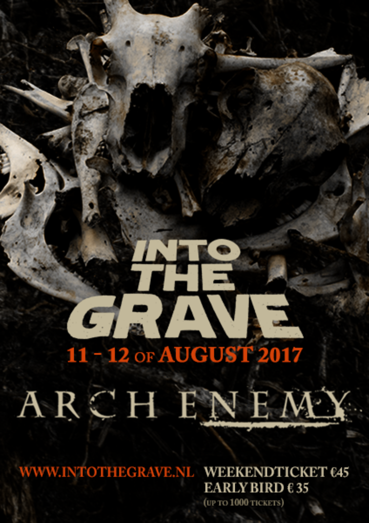 Arch Enemy @ Into The Grave - Leeuwarden, Netherlands