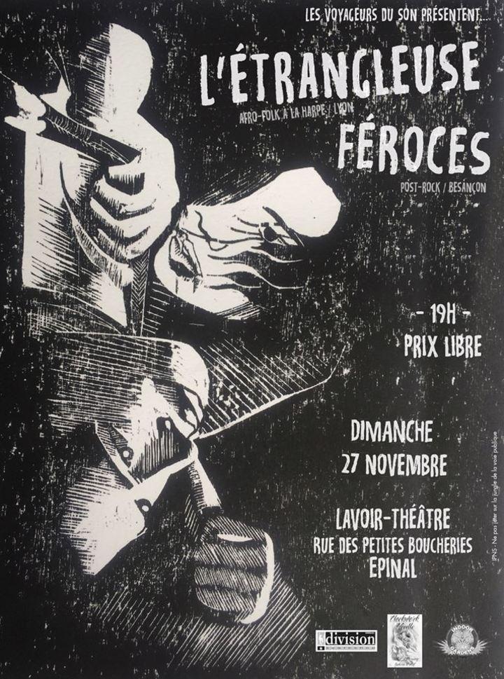 Feroces @ Lavoir Théatre - Epinal, France