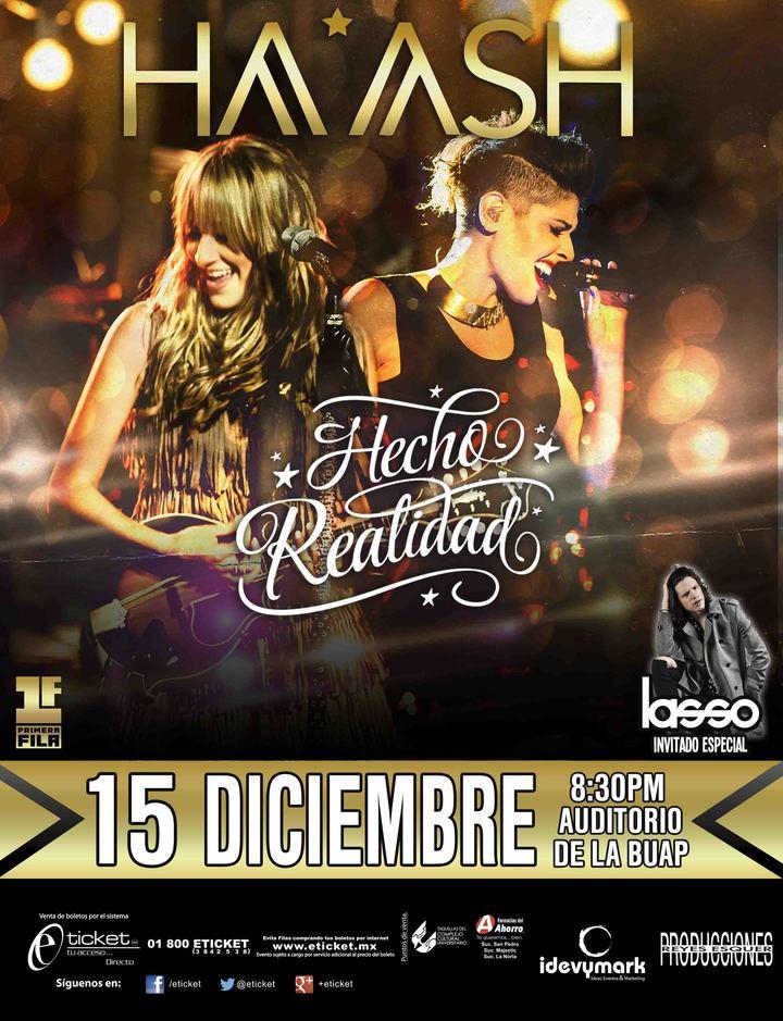 Ha*Ash @ Show Auditorio BUAP - Puebla, Mexico