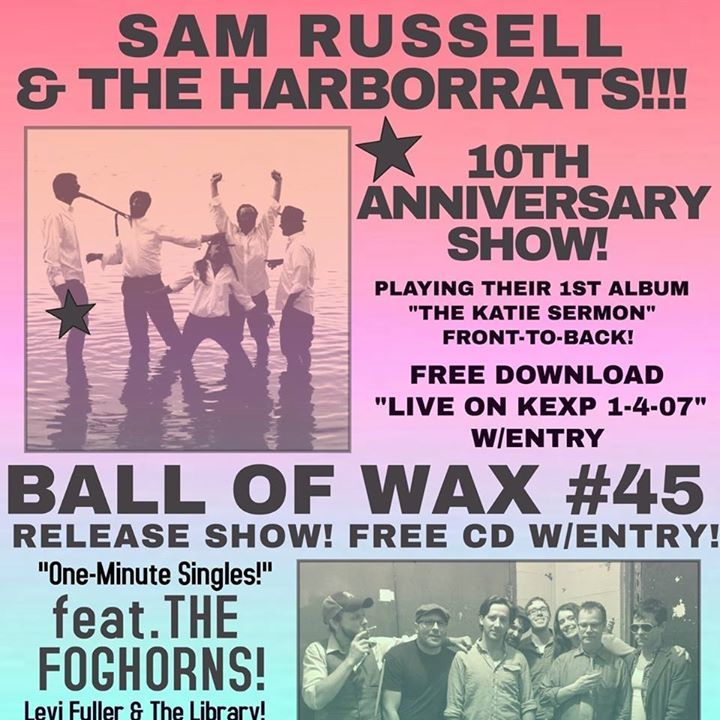 Sam Russell with The Harborrats Tour Dates