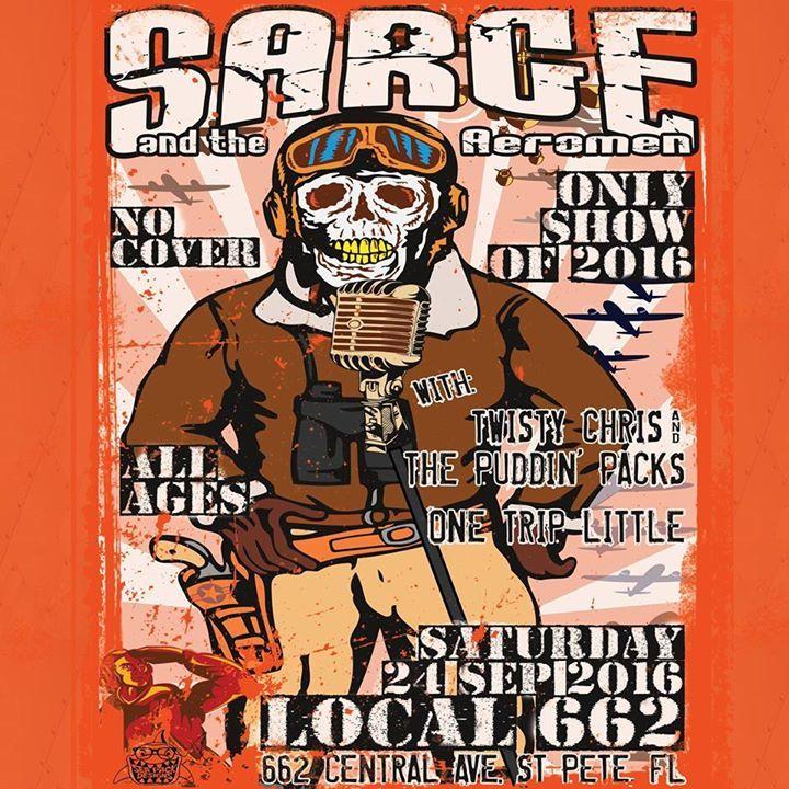 Sarge and the Aeromen Tour Dates