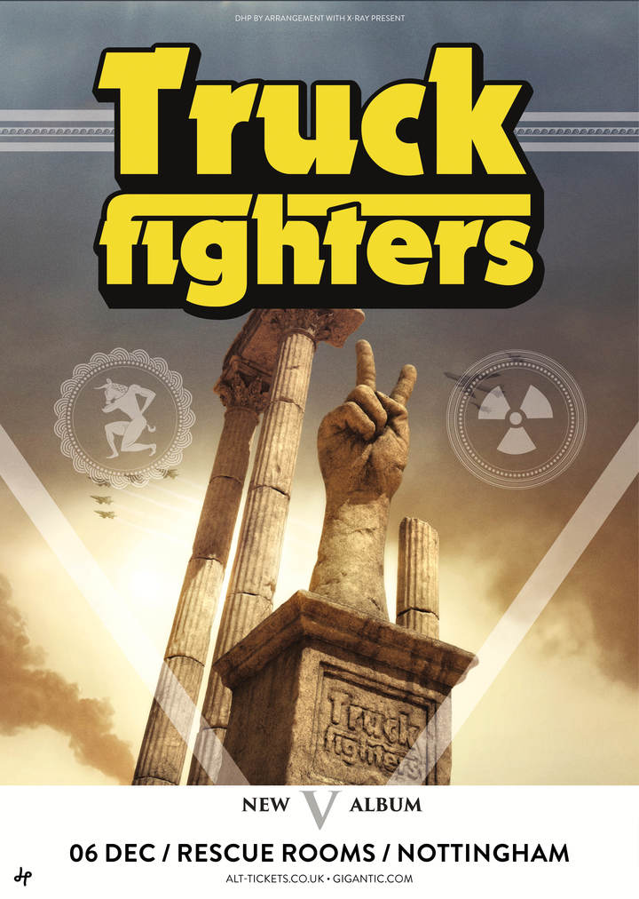 Truckfighters @ Rescue Rooms - Nottingham, United Kingdom