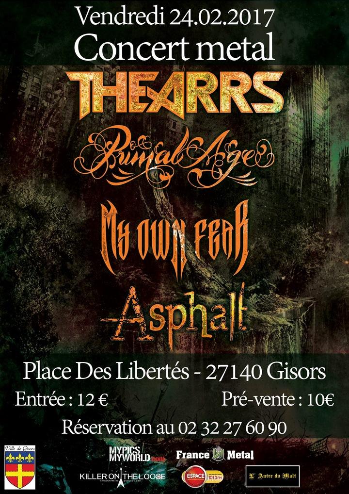 My Own Fear @ Salle Des Fêtes - Gisors, France