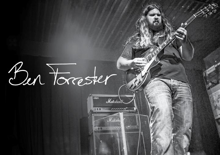 The Ben Forrester Band @ Kofferfabrik - Fürth, Germany