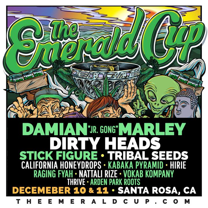 Vokab Kompany @ The Emerald Cup - Santa Rosa, CA