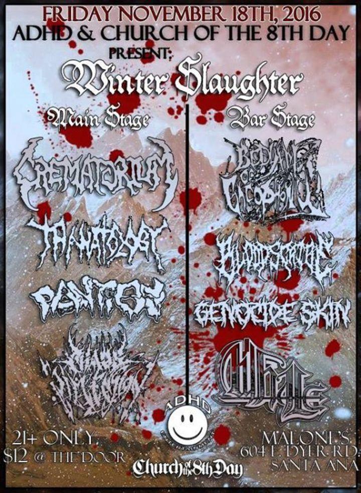 Chaos Dimension Tour Dates