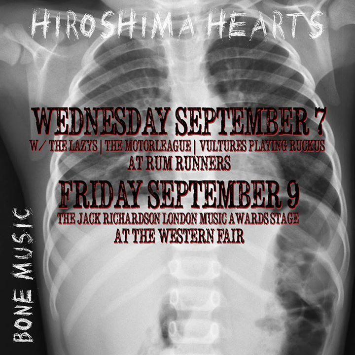 Hiroshima Hearts Tour Dates