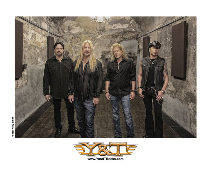 Y&T @ Grand Theatre Center for the Arts - Tracy, CA