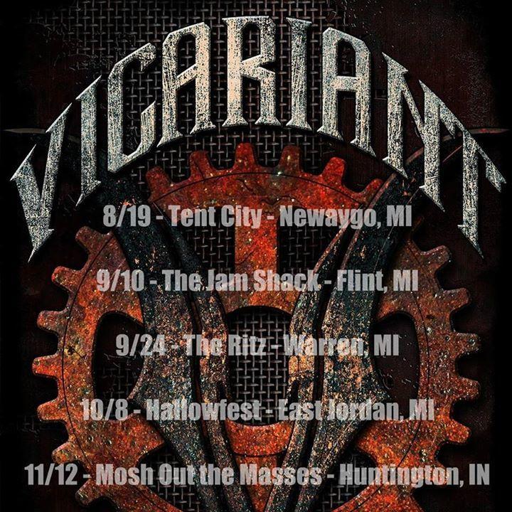 Vicariant Tour Dates