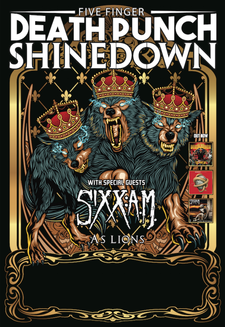 Shinedown @ Bon Secours Wellness Arena - Greenville, SC