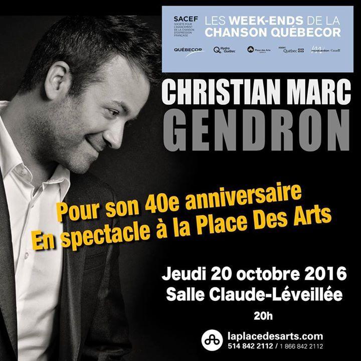 Christian Marc Tour Dates