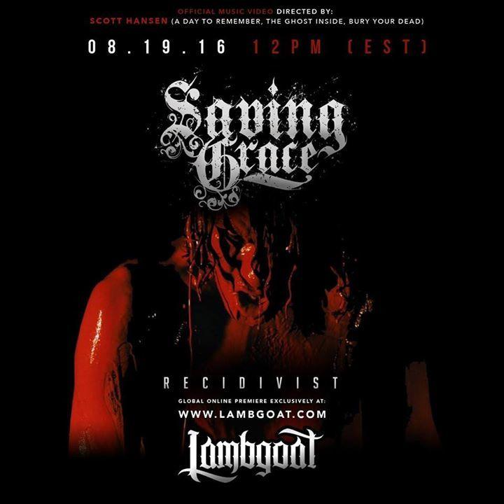 SavingGrace Tour Dates