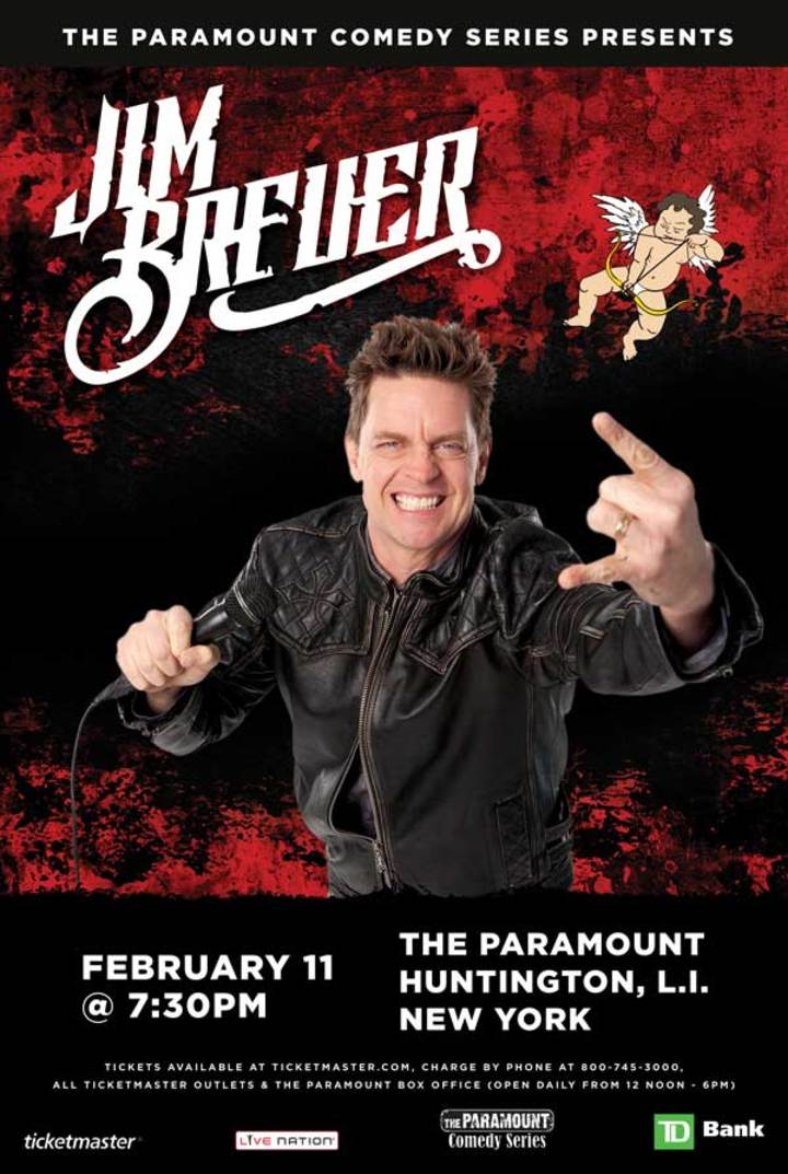 Jim Breuer @ The Paramount early show - Huntington, NY