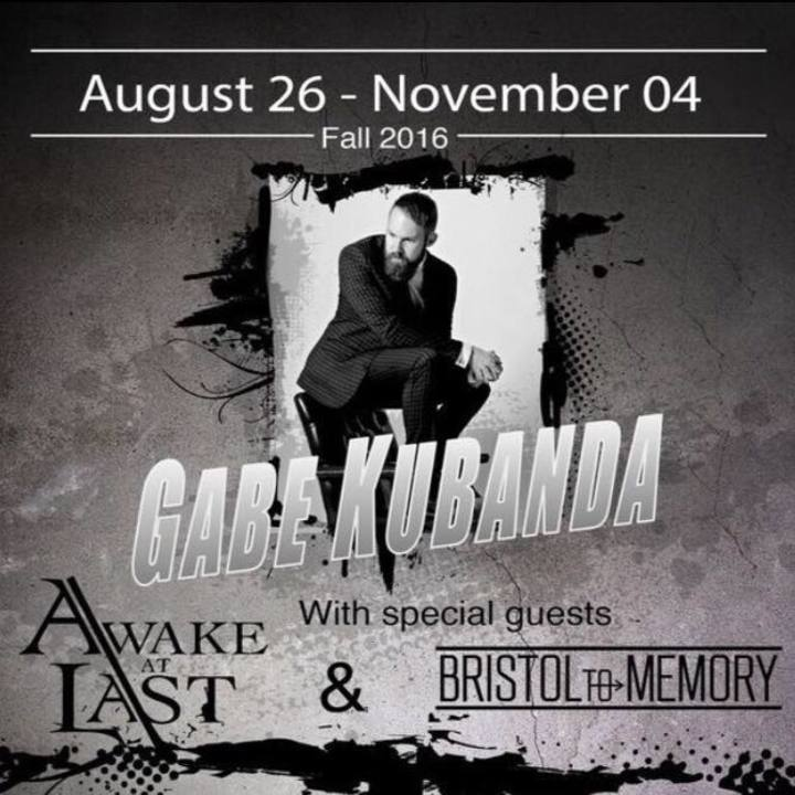Gabe Kubanda Tour Dates