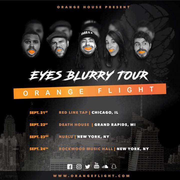 Orange Flight Tour Dates