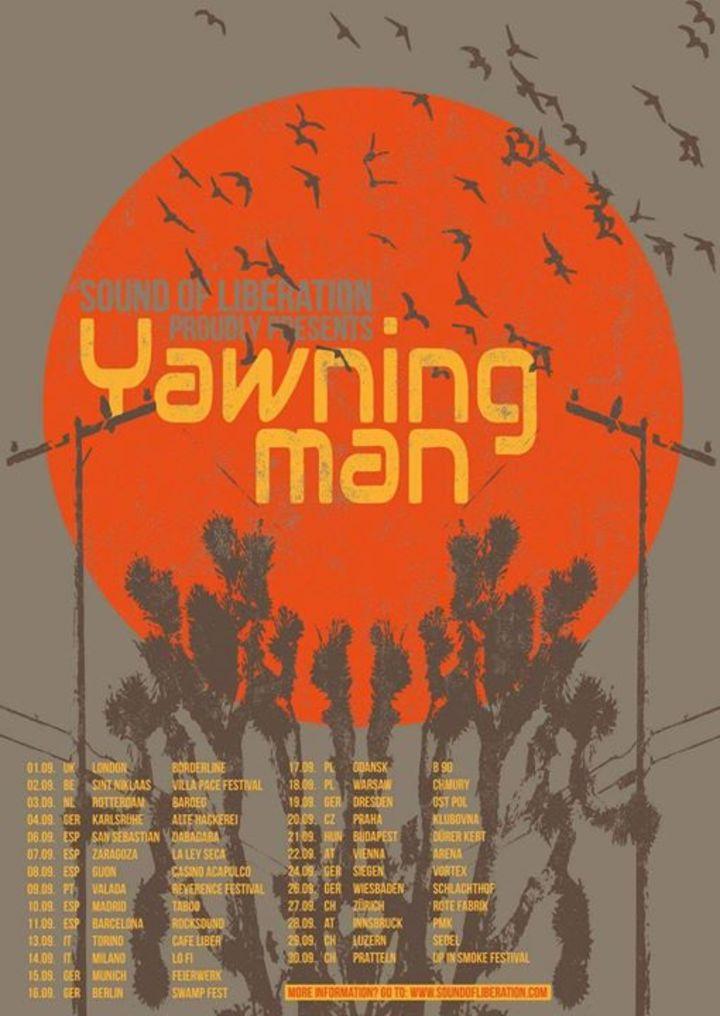 Yawning Man (Official) Tour Dates