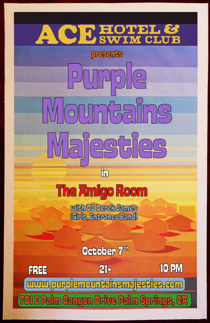 Bandsintown | Purple Mountains Majesties Tickets - Ace Hotel