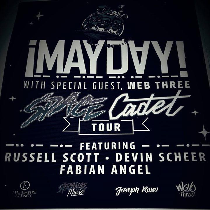 Five Day Rhetoric Tour Dates