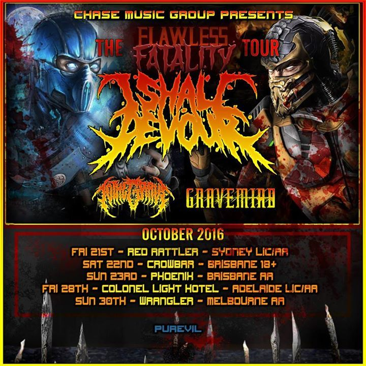 I Shall Devour Tour Dates