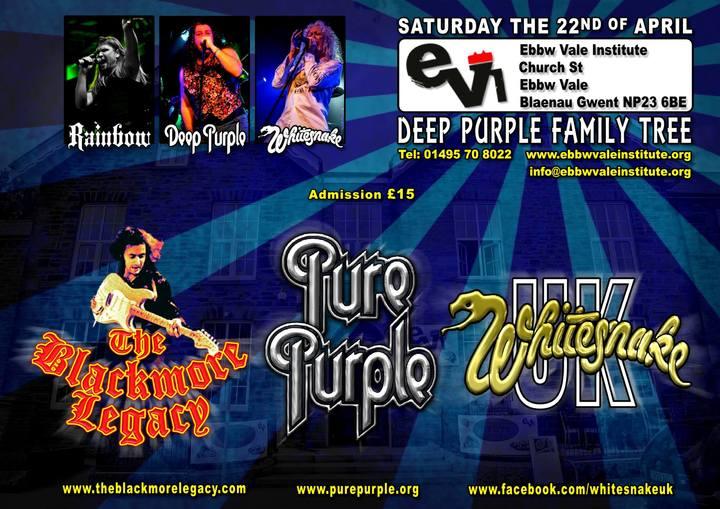 Whitesnake UK (the tribute) @ Ebbw Vale Institute (EVI) - Ebbw Vale, United Kingdom