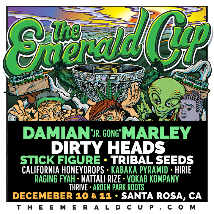 Raging Fyah @ Emerald Cup - Santa Rosa, CA