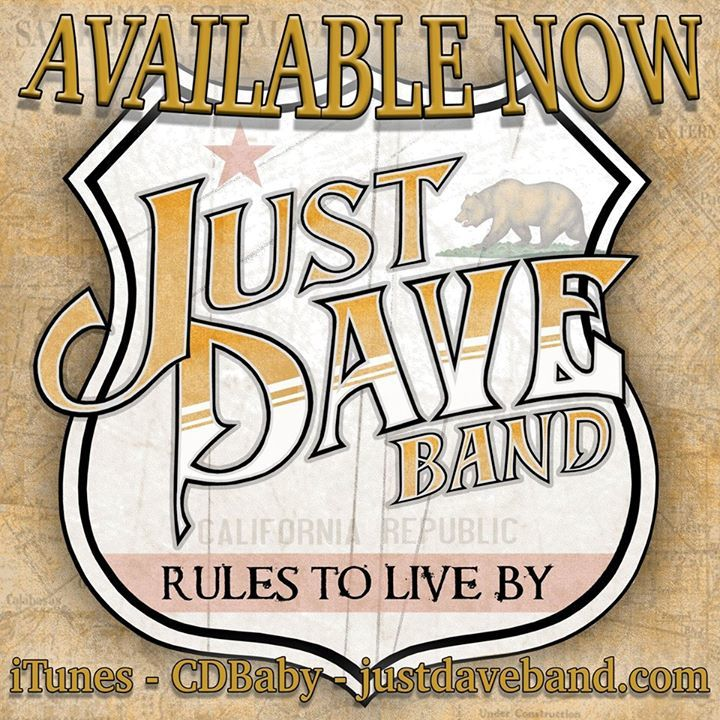 Just Dave Band Tour Dates