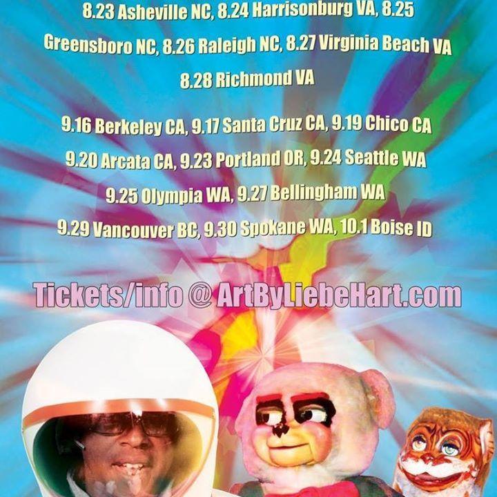David Liebe Hart Tour Dates