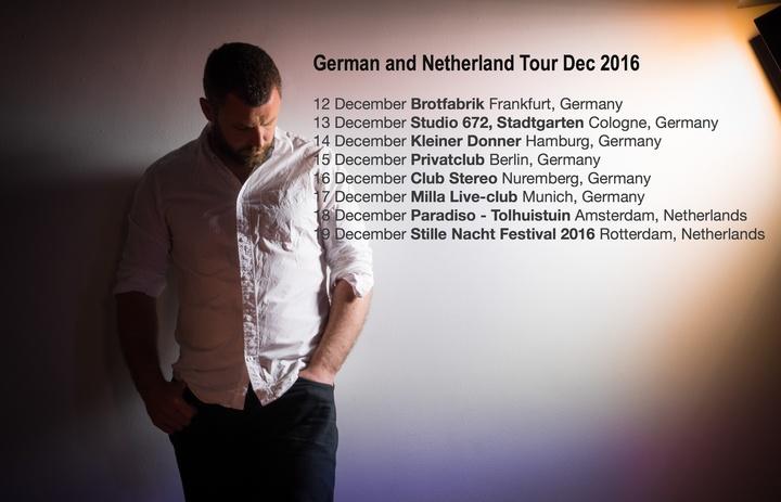 Mick Flannery @ Brotfabrik Frankfurt - Frankfurt, Germany