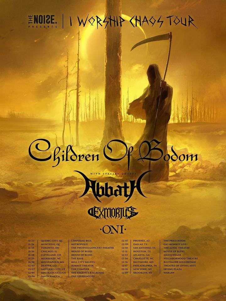 Abbath -Official- @ Gas Monkey Live! - Dallas, TX