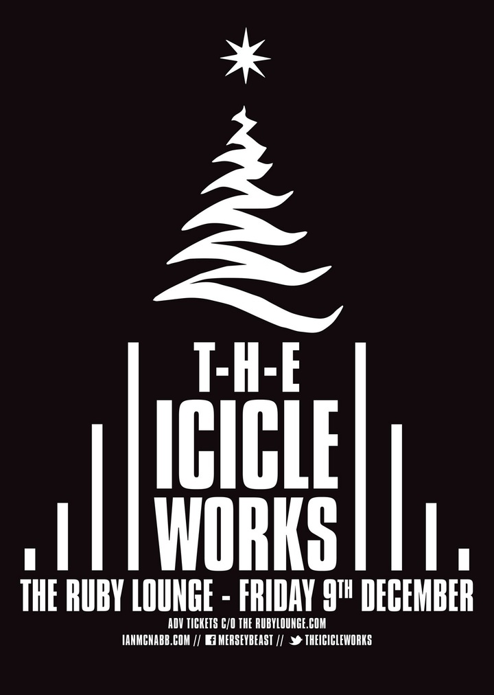 Ian McNabb @ THE ICICLE WORKS @ Ruby Lounge - Manchester, United Kingdom