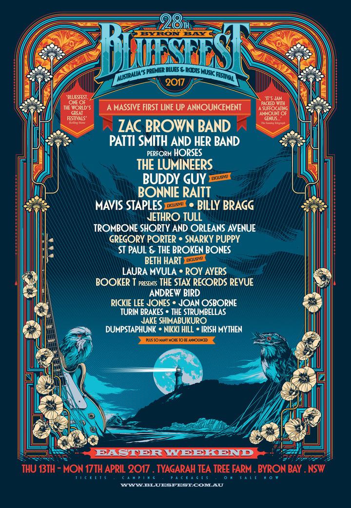 The Strumbellas @ Byron Bay Blues Festival - Byron Bay Nsw, Australia