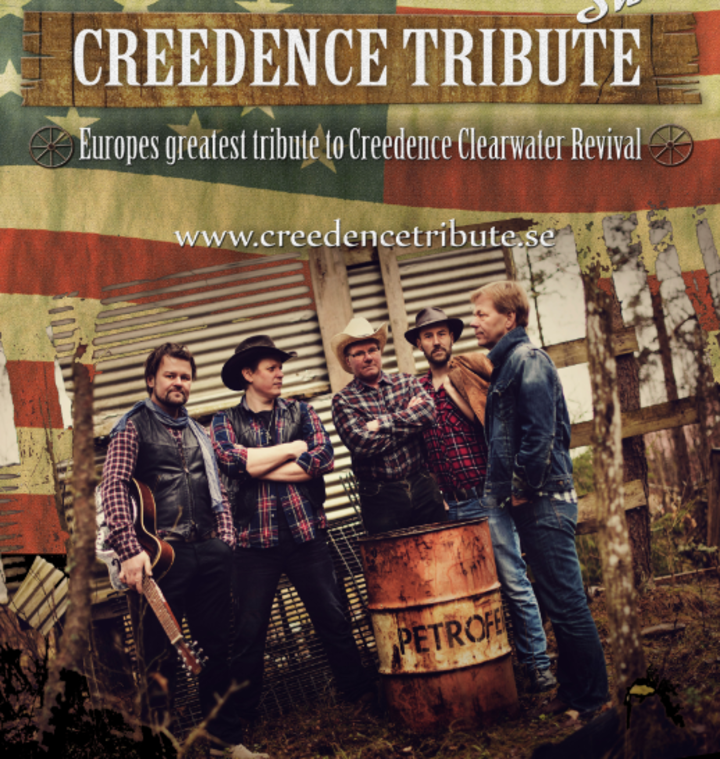 CREEDENCE TRIBUTE @ Stage Dream Festival  - Hassleholm, Sweden