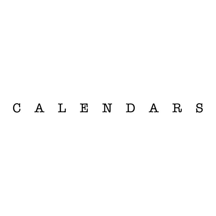 Calendars Tour Dates