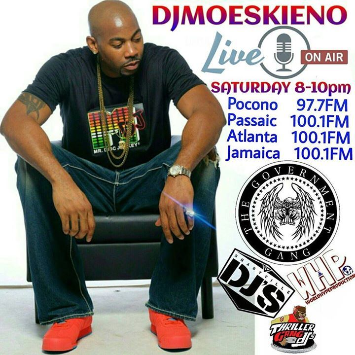 D.j. Moeskieno Tour Dates