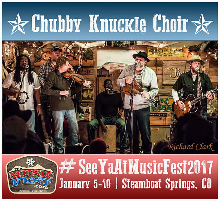 Chubby Knuckle Choir @ The MusicFest  - Steamboat Springs, CO
