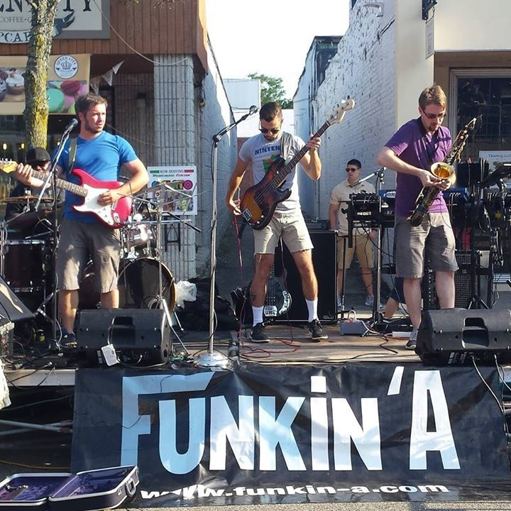 Funkin' A Tour Dates