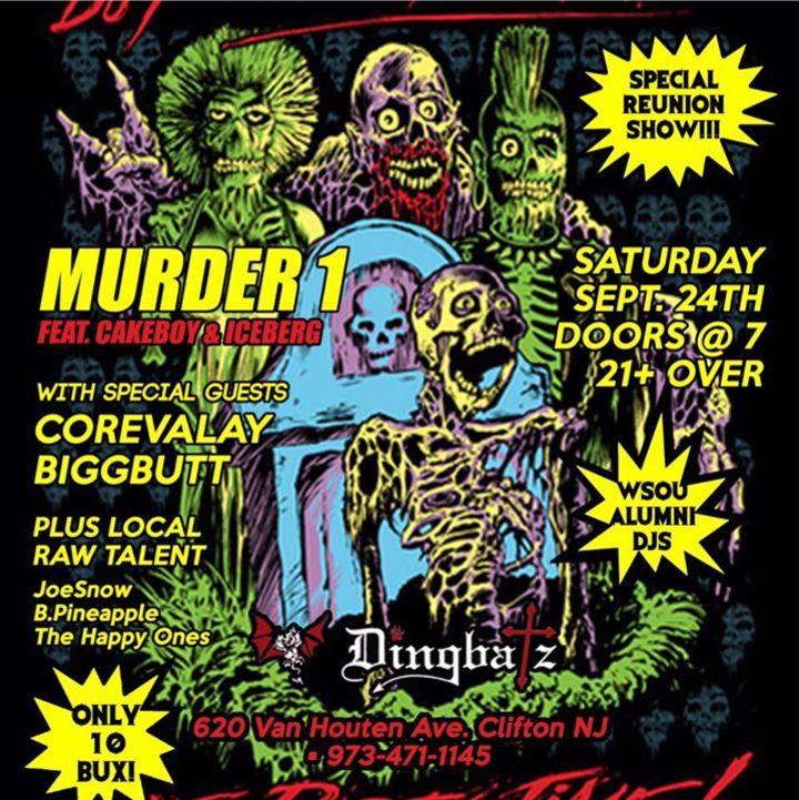 Murder 1 Tour Dates