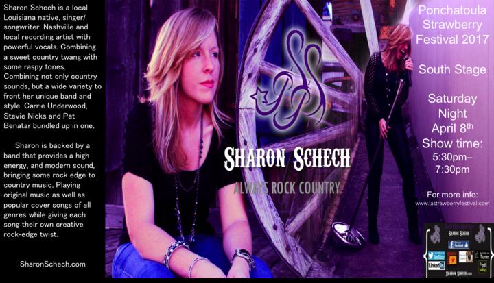 Sharon Schech - Band Page @ Ponchatoula Strawberry Festival - Ponchatoula, LA