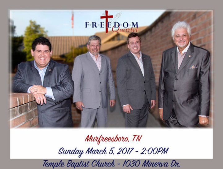 Freedom Quartet @ Temple Baptist Church - Murfreesboro, TN