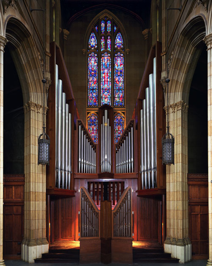 Bradley Burgess, pianist & organist @ Dwight Memorial Chapel - New Haven, CT