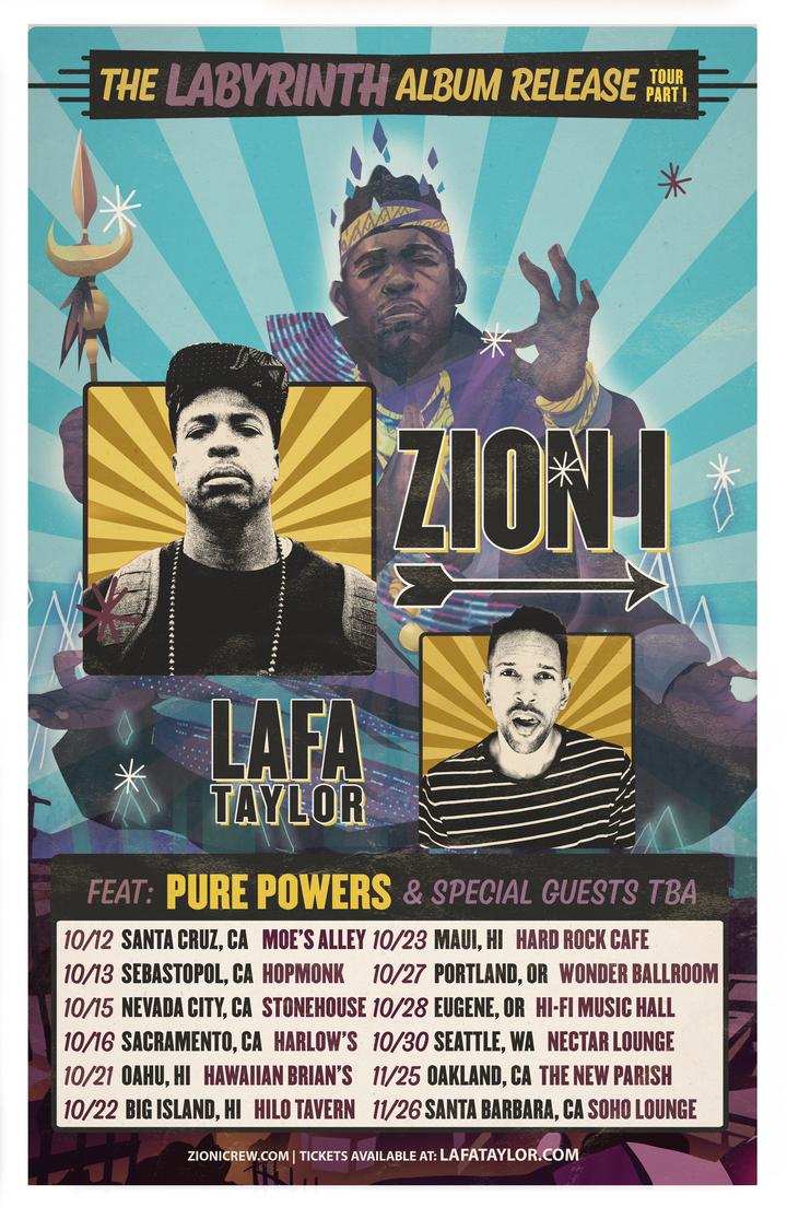 Zion I Crew @ Moe's Alley - Santa Cruz, CA