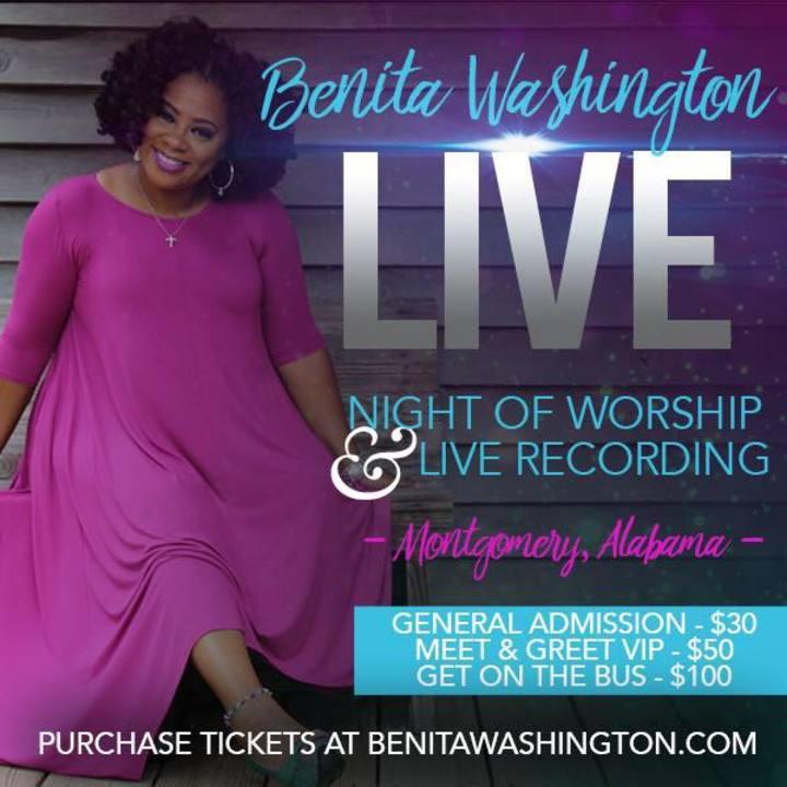 Benita Washington Tour Dates