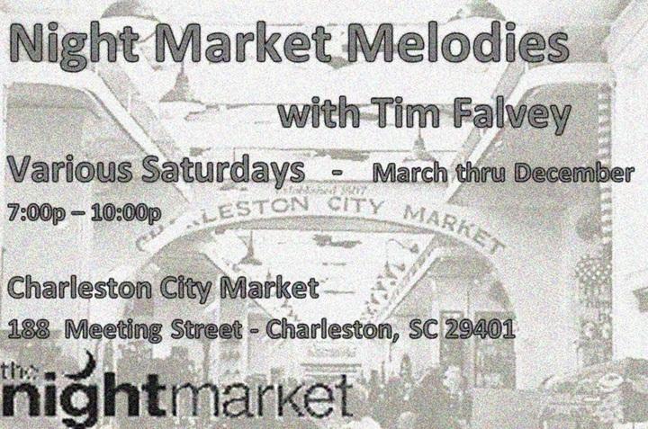 Tim Falvey @ Charleston City Market - Charleston, SC