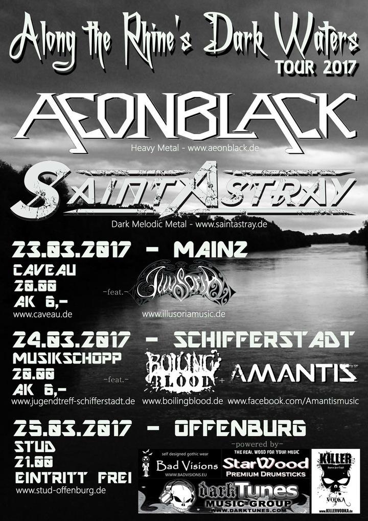 Saint Astray @ Caveau - Mainz, Germany
