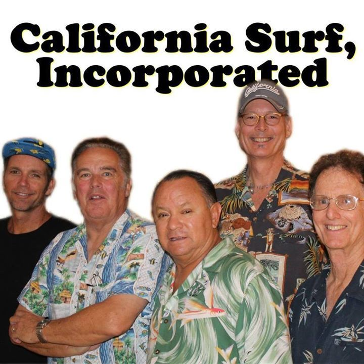 California Surf Incorporated Tour Dates