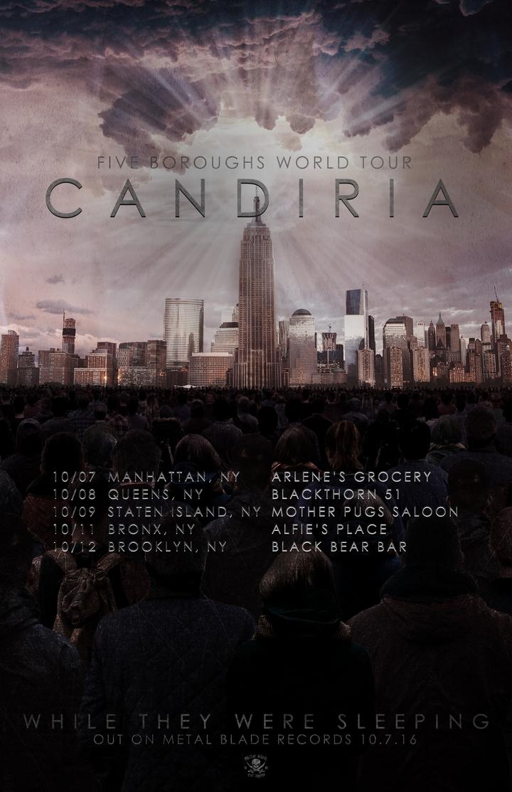 Candiria Tour Dates