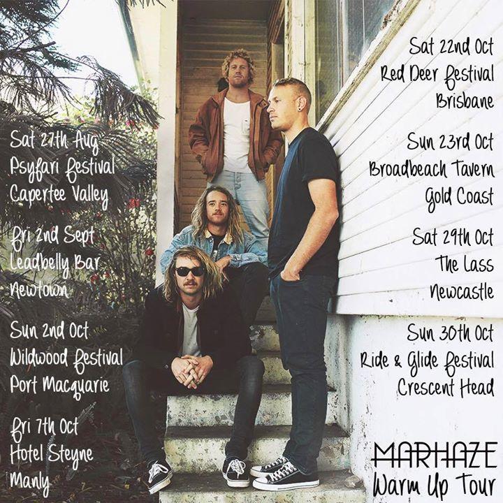 Mar Haze Tour Dates