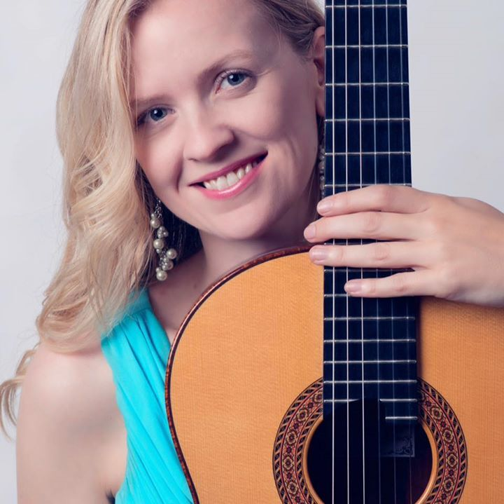 Candice Mowbray Classical Guitarist @ College of New Jersey  - Ewing, NJ